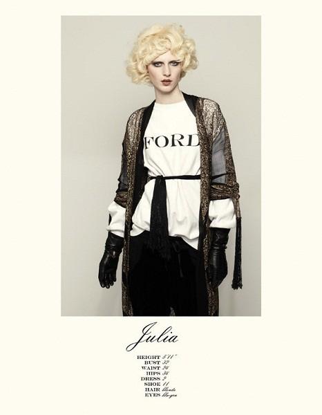 Композитки пяти модельных агентств к Нью-Йоркской неделе моды. Изображение № 43.