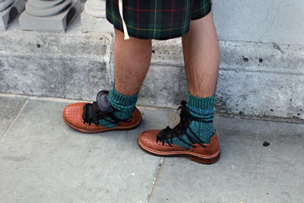 Streetstyle: Неделя моды в Лондоне, часть 1. Изображение № 33.