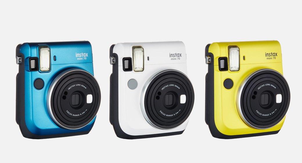 Быстрая и веселая фотокамера  Fujifilm Instax Mini 70. Изображение № 1.