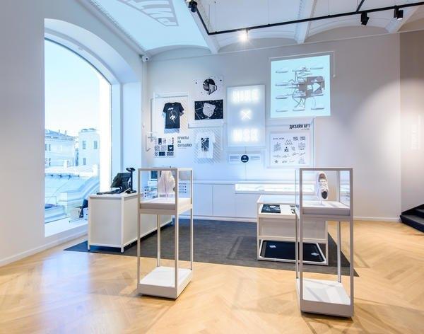 В Москве открылся пятиэтажный магазин Nike. Изображение № 4.