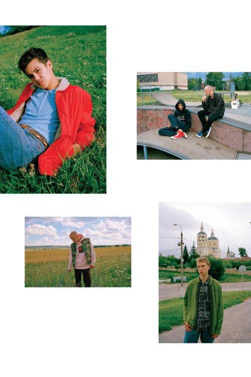 Гоша Рубчинский и Толя Титаев запустили новую марку «Рассвет». Изображение № 21.
