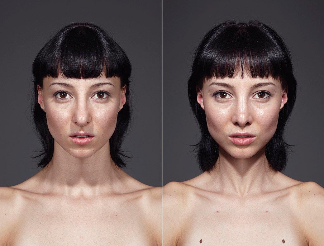 «Симметричные портреты»:  Два человека в одном. Изображение № 9.