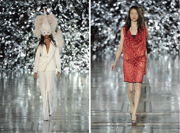 Показы на London Fashion Week SS 2012: День 4. Изображение № 11.