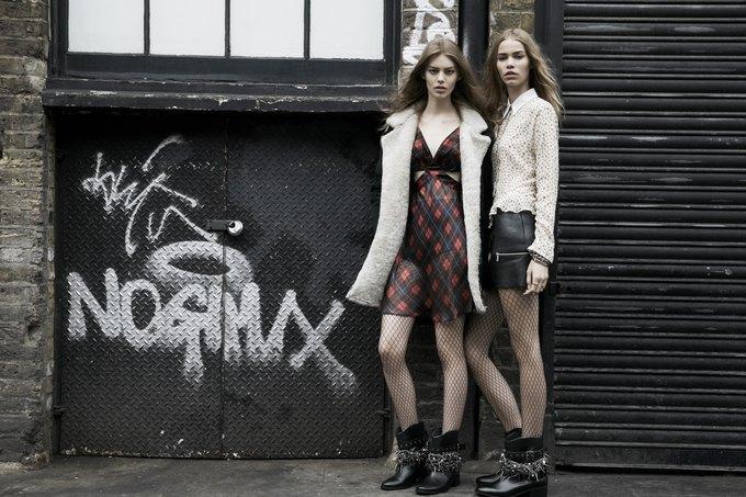 Модели на улицах Лондона в новой кампании Zara. Изображение № 18.