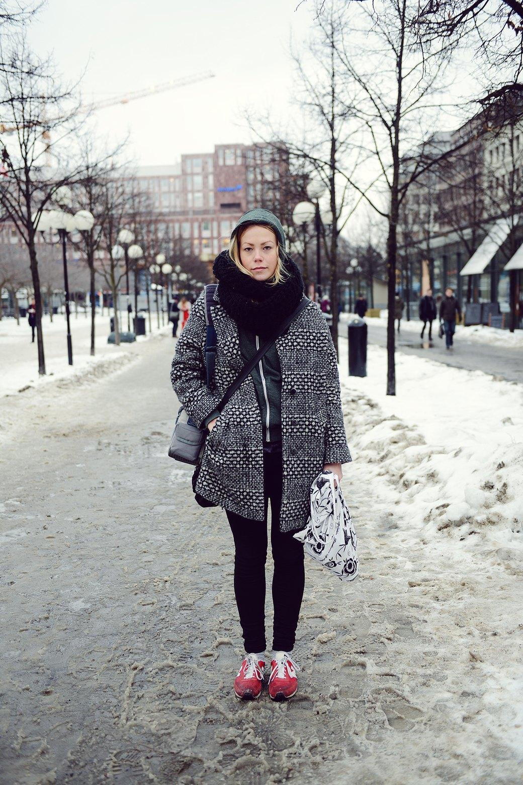 Шубы и горох на Stockholm Fashion Week. Изображение № 6.