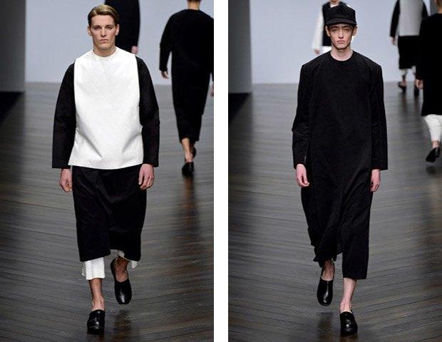 Никомеде Талавера, дизайнер,  одевающий парней в платья. Изображение № 10.