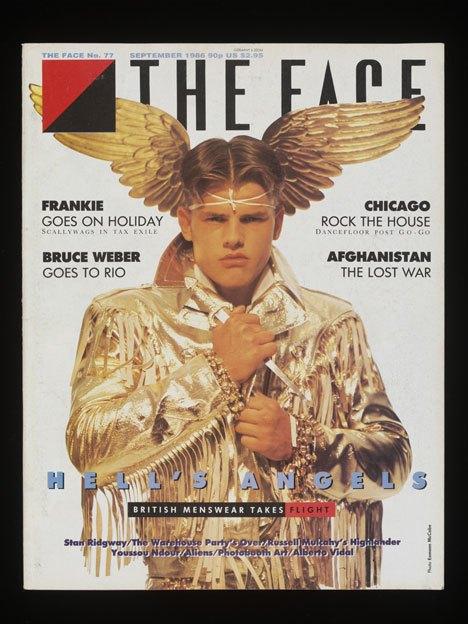 Обложка журнала The Face, 1986. Изображение № 1.