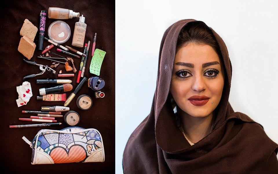«Иранский макияж»:  Как и чем красятся  восточные женщины. Изображение № 5.
