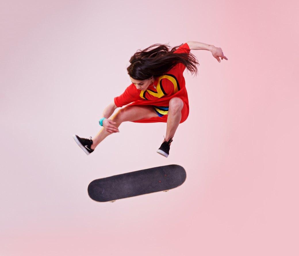 Скейтбордистка Катя Шенгелия об отсутствии конкуренток и трюках. Изображение № 2.