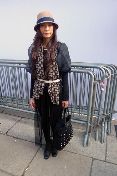 Изображение 1. Milan Fashion Week: день третий – луки.. Изображение № 16.
