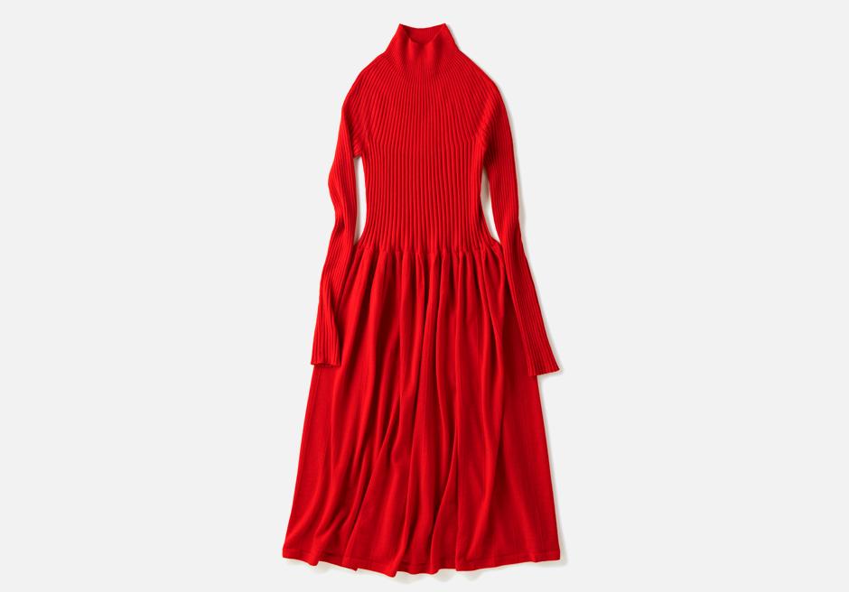 Яркое и тёплое платье Uniqlo U. Изображение № 1.