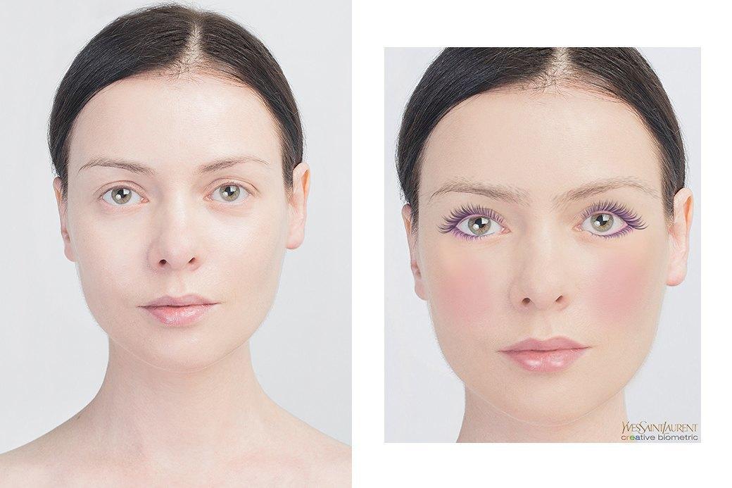До и после макияжа:  Редакция тестирует  бьюти-приложения. Изображение № 31.