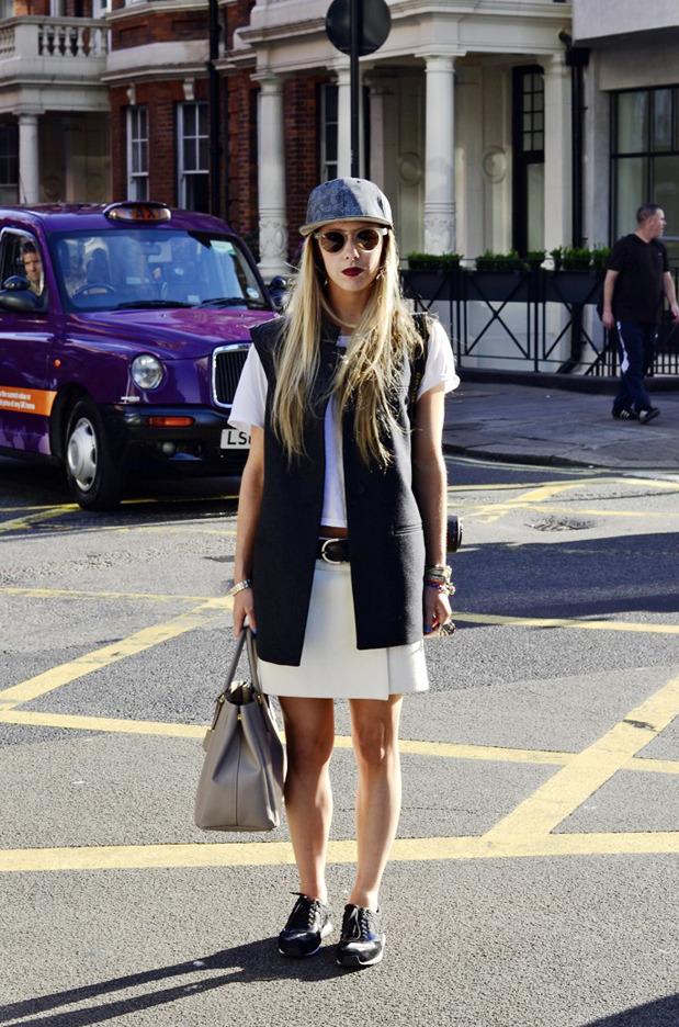 Streetstyle: Неделя моды в Лондоне, часть 2. Изображение № 39.