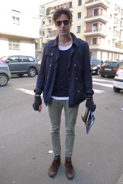 Изображение 11. Milan Fashion Week: день третий – луки.. Изображение № 24.