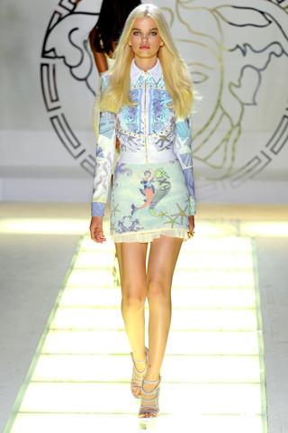 Milan Fashion Week: показ Versace SS 2012. Изображение № 5.