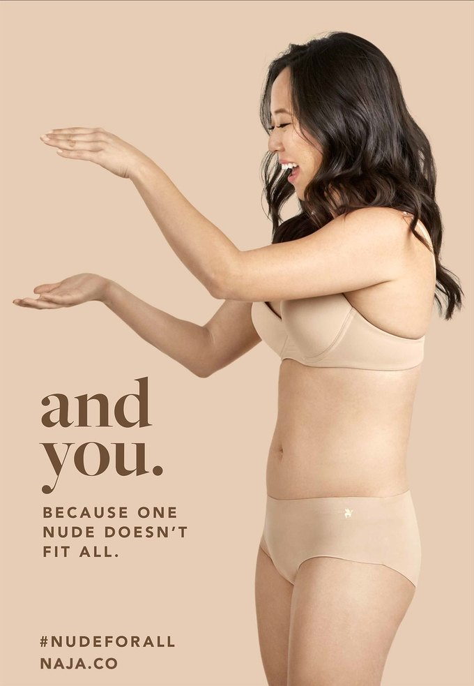 В рекламной кампании нижнего белья Naja снялись реальные женщины. Изображение № 2.