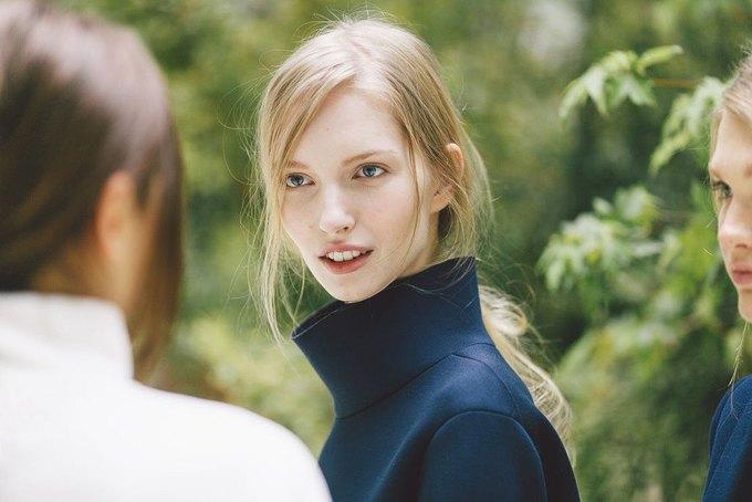 Объемные пальто и клетка в осеннем лукбуке Zara. Изображение № 18.