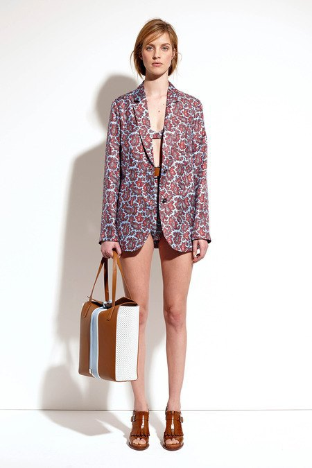Пальто и костюмы в лукбуке новой коллекции Michael Kors. Изображение № 22.