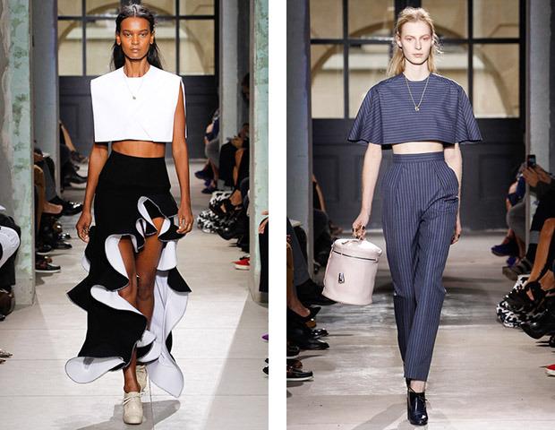 Неделя моды в Париже: Показы Balenciaga, Carven, Rick Owens, Nina Ricci, Lanvin. Изображение № 1.