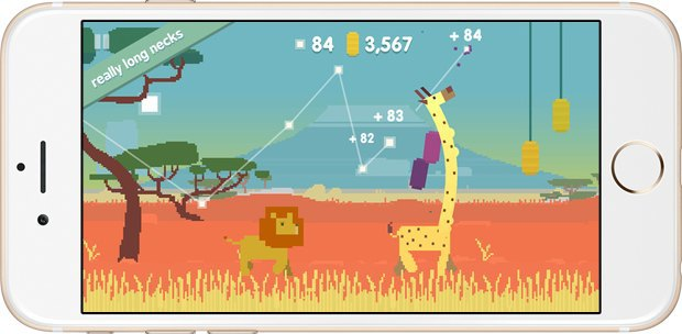 Жираф, космос  и смерть: 10 лучших мобильных игр на лето. Изображение № 7.