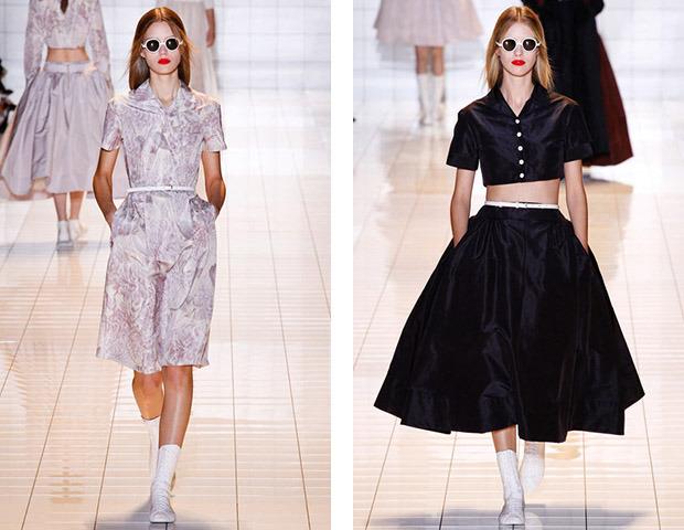 Парижская неделя моды: показы Damir Doma, Dries Van Noten, Rochas, Gareth Pugh и Mugler. Изображение № 24.
