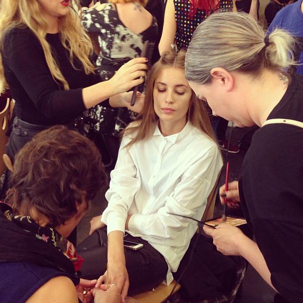 Прямой репортаж  с Paris Fashion Week:  День 6. Изображение № 26.
