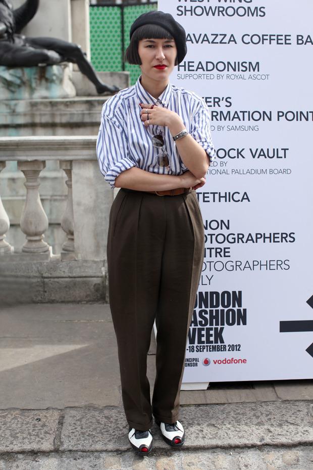 Streetstyle: Неделя моды в Лондоне, часть 1. Изображение № 22.
