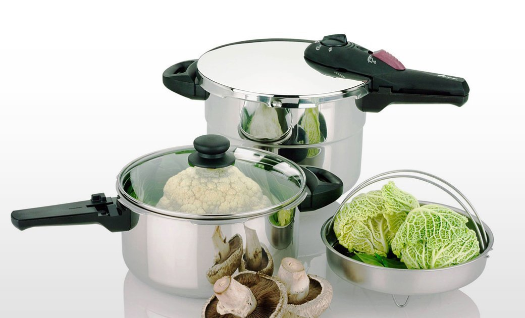 Fagor Splendid 2-in-1, 5 Piece Pressure Cooker Set. Изображение № 4.
