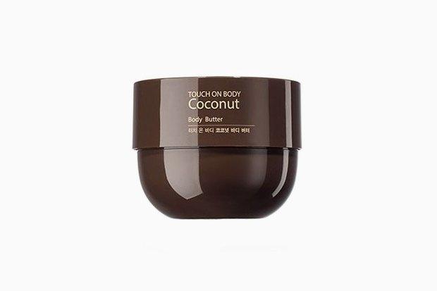 Крем-масло для тела с кокосовой водой The Saem Touch on Body Coconut Body Butter. Изображение № 12.