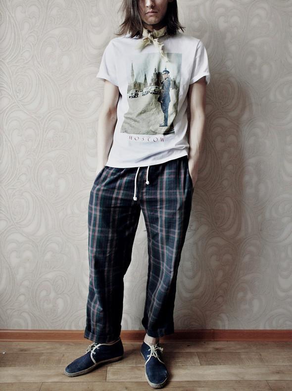 Гардероб: Андрей Толстов, модель, сотрудник магазина «КМ20». Изображение № 1.