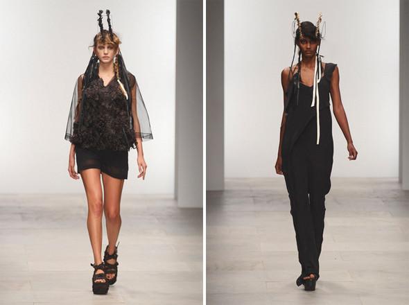 Показы на London Fashion Week SS 2012: День 2. Изображение № 9.