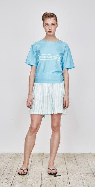 Пижамы, сетка и «Интурист» в новом лукбуке Walk of Shame. Изображение № 5.