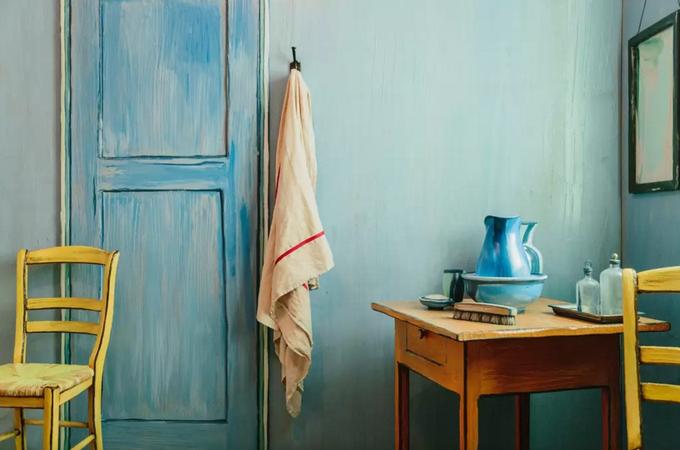 На Airbnb теперь можно арендовать копию комнаты Ван Гога. Изображение № 3.