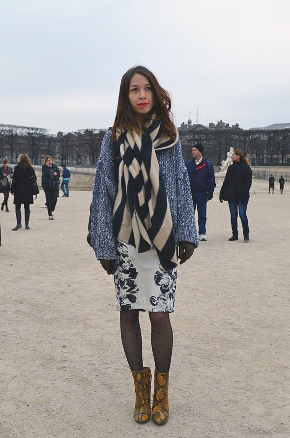 Неделя моды в Париже: Streetstyle. Изображение № 8.
