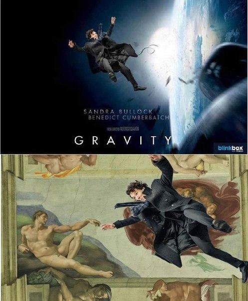 Падающий Шерлок стал новым интернет-мемом. Изображение № 3.