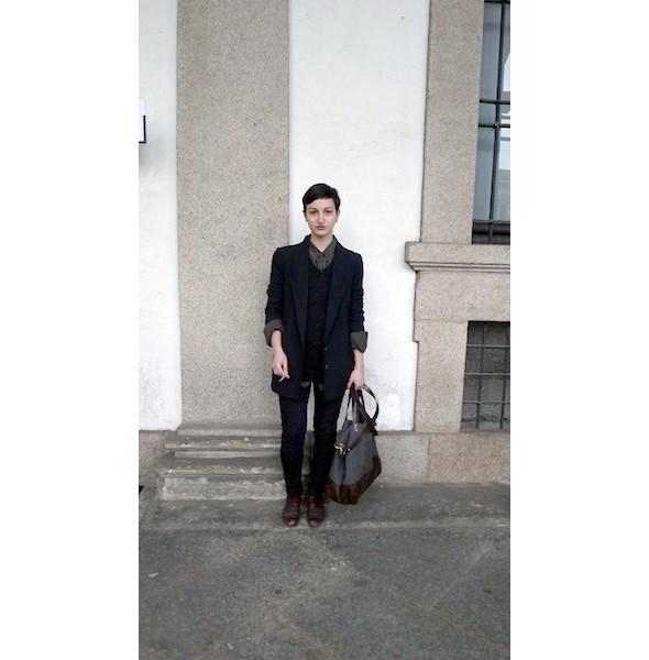 Изображение 11. Milan Fashion Week: день шестой — луки.. Изображение № 11.