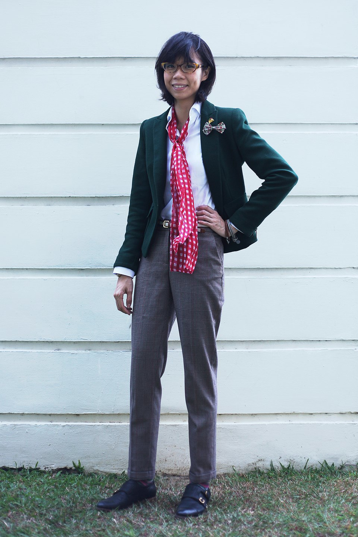 Гардероб: Джени Кай,  директор моды Esquire Singapore . Изображение № 8.