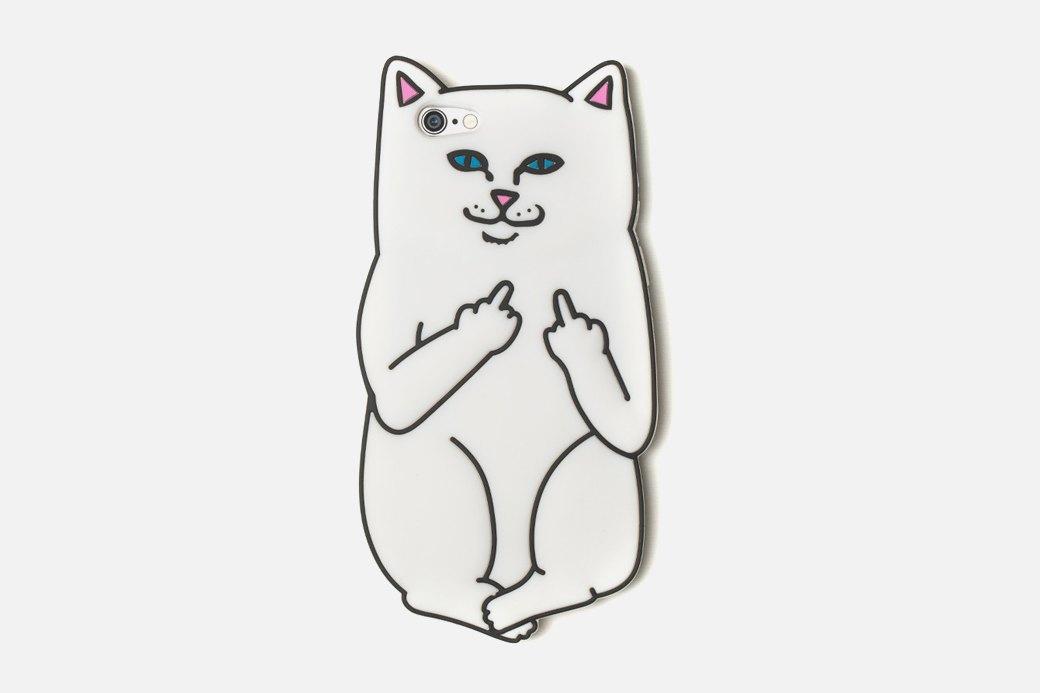 Чехол для айфона с дерзким котом. Изображение № 1.