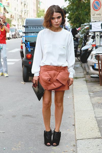 Milan Fashion Week: Уличный стиль, день 3. Изображение № 3.