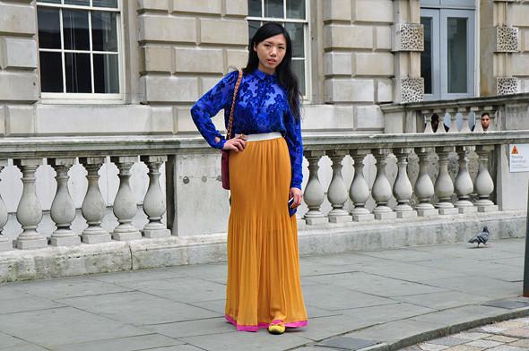 London Fashion Week: Уличный стиль, часть 2. Изображение № 11.