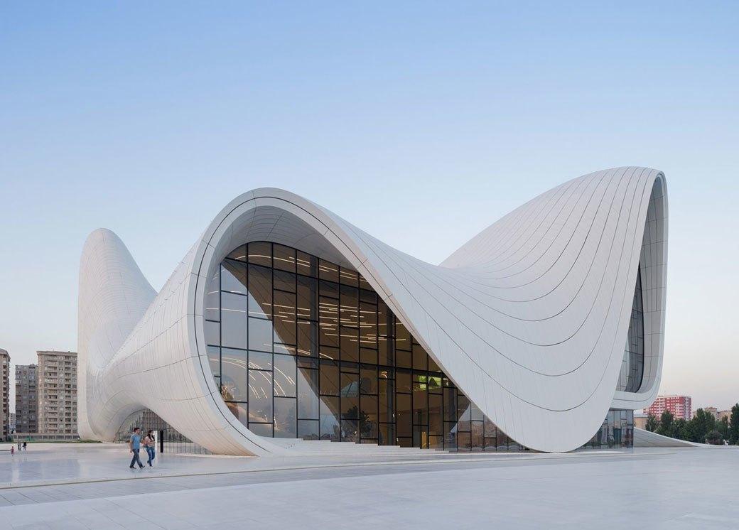 Центр Гейдара Алиева в Баку . Изображение № 4.