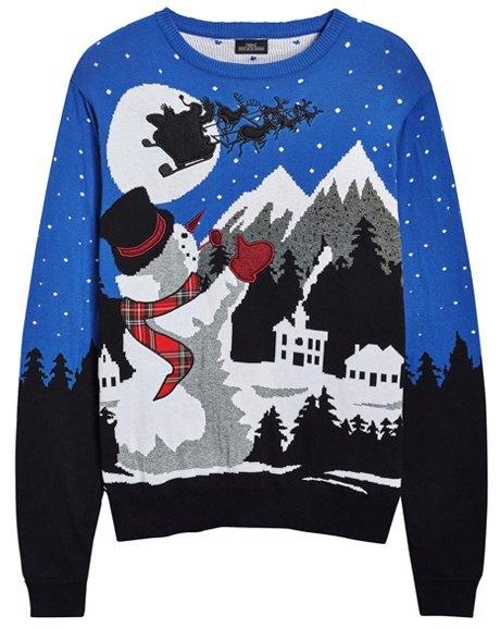 «Уродливые» свитера для Нового года: От простых до роскошных. Изображение № 6.