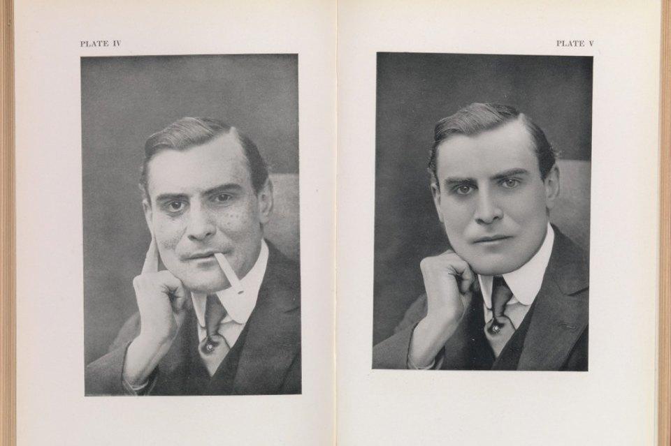 Роберт Джонсон, 1930, пособие по ретуши негативов.. Изображение № 4.