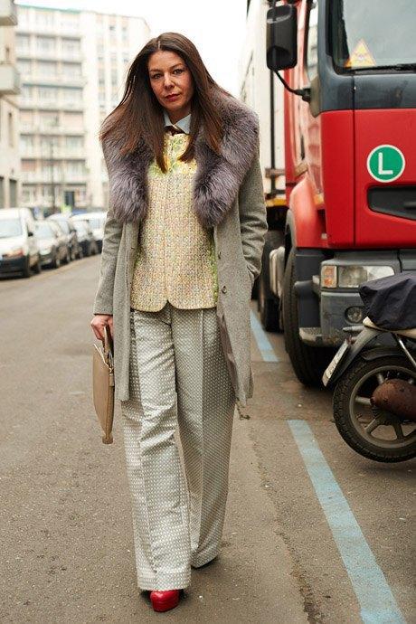 Стритстайл:  Неделя моды в Милане,  часть I. Изображение № 15.