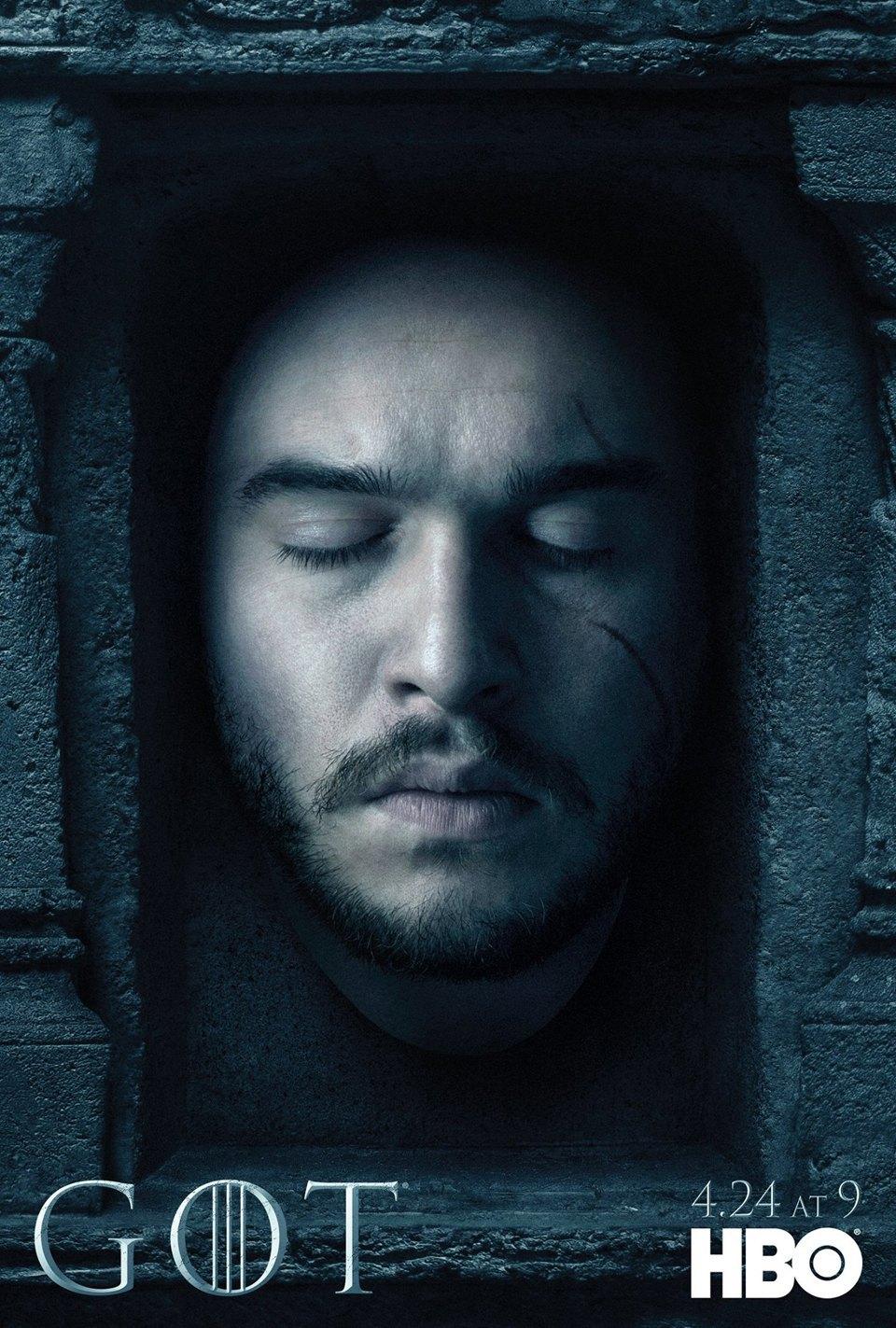 Постеры с героями «Игры престолов» к новому сезону. Изображение № 1.