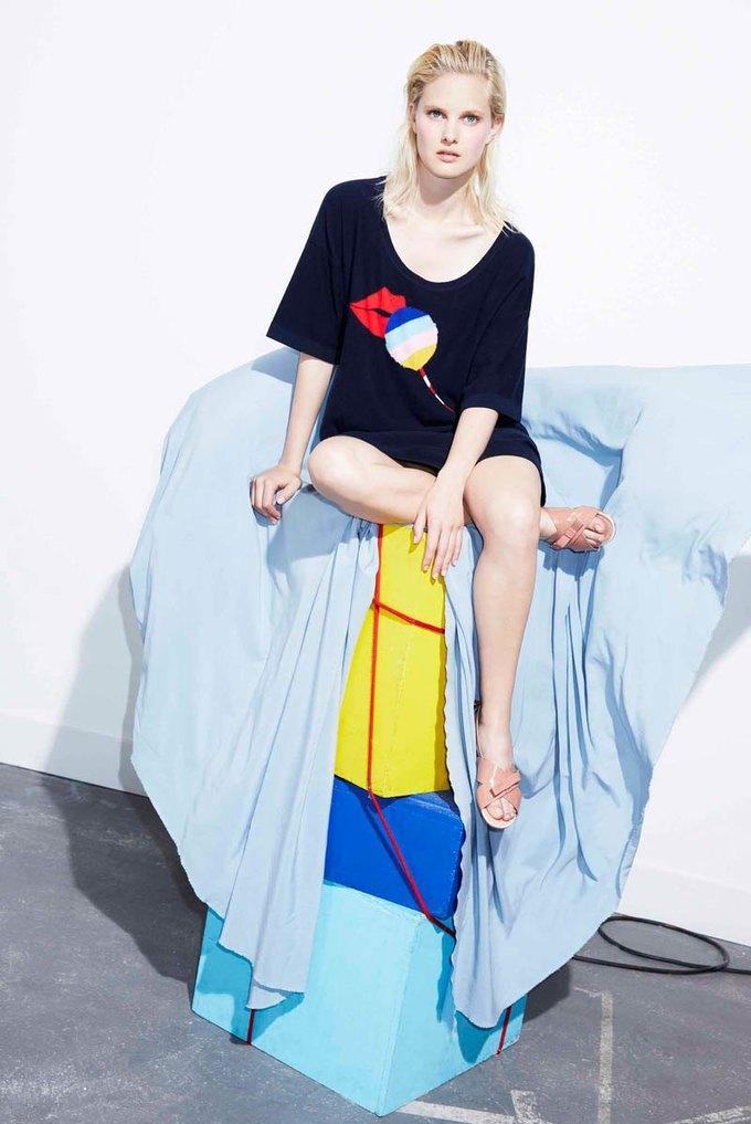Пастель и полоска в новой коллекции Sonia by Sonia Rykiel. Изображение № 4.
