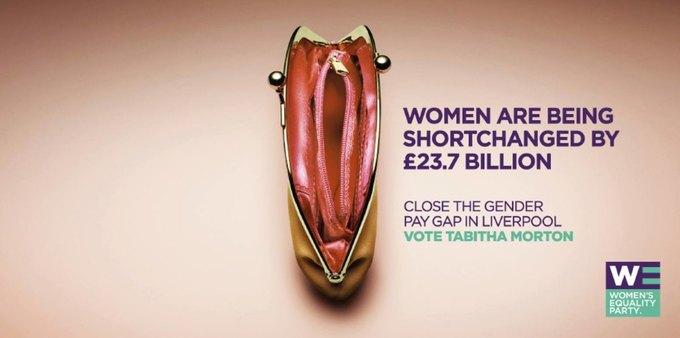В Ливерпуле запустили провокационную кампанию против неравенства. Изображение № 1.