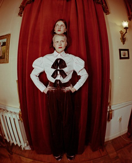 Съёмка Юлдус Бахтиозиной для Naya Rea по мотивам пьесы «Три сестры». Изображение № 18.