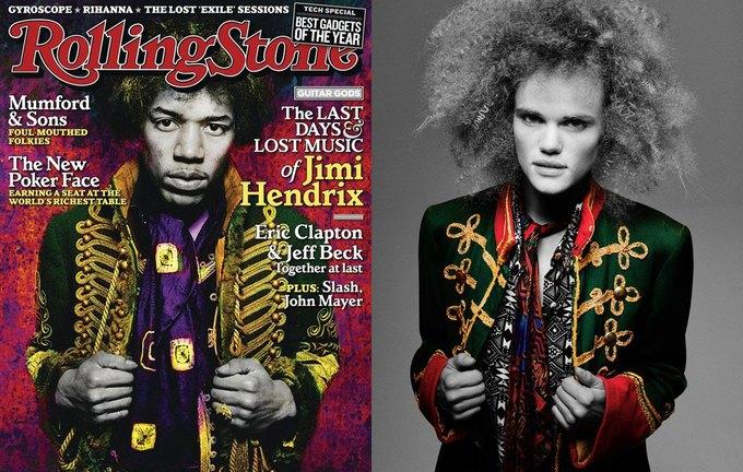 Джими Хендрикс, выпуск Rolling Stone от 10 мая 2010 года. Изображение № 6.