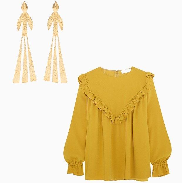 Комбо: Жёлтые вещи с остальными. Изображение № 1.